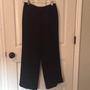Express wide leg flowy trousers